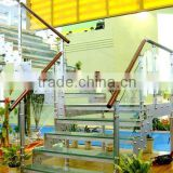 Swimming pool tempered glass stair panel/ handrail fence