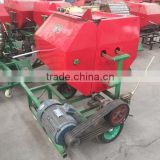 Hydraulic vertical cotton straw press baling machine