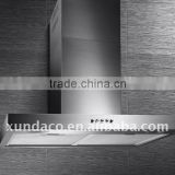 60cm stainless steel range hood kitchen chinmey hoods