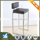 black leather metal bar stool with trade assurance