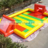 inflatable football sports game / inflatable football field games / football yard inflatables