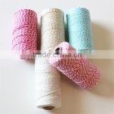 Manufacturer 110 yard/Spool Colored Bakers Twine 100 % Cotton Divine Twine for Party Gift Packing