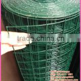 green pvc coating netting / pvc coated wire mesh / garden fence