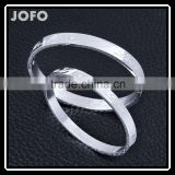 "Stainless Steel ""LOVE"" Letters Bangles Women Fashion Wedding Promise Gifts"