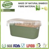 2015 hot selling bamboo fiber storage box,bamboo fiber bread bin                                                                         Quality Choice