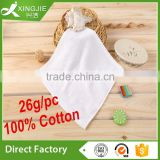 Disposable 100% Cotton White Plain dyed Hand Towel                                                                         Quality Choice