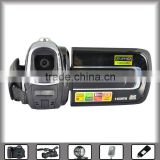 "mass storage digital video camera with 3.0"" TFT LCD can revolve angle of 270 degrees, 5 mega pixels, USB2.0, flash light"