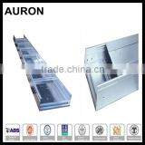AURON/HEAWELL ABS BV GL DNV ISO ROHS CE aluminum alloy indoor cable tray/aluminuming cable closed tray/Al alloy cable bridge