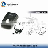 Professional good quality noise cancelling headphone headset microphone amplifier CTA-200