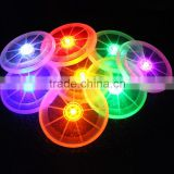 "5"" Light Up Flying Disc - LED Illuminated Frisbee-custom design available"