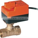 pvc electric actuator ball valve