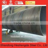 API 5L X70 PSL2 SSAW 3PE Anti-corrosion spiral welded steel tube