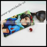 MIC4031 100% microfiber digital printing pouch for eyeglass phone