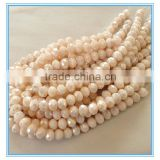 Creamy Ivory Opaque Faceted Crystal Rondelle glass beads, AB plated rondelle glass beads