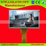Good quality 7 inch TFT LCD screen display panel