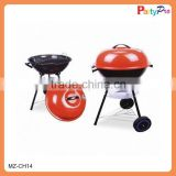 Camping Equipment Portable Indoor Charcoal Vertical BBQ Grill