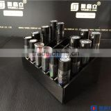 clean black polished acrylic with wholesale acrylic lipstick holder                                                                         Quality Choice