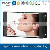 FlintStone 10 inch open frame pos video panel no housing LCD TV monitor circular play adverts display