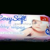 OEM Disposable baby cleansing wet wipe/tissue baby skin care product