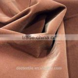 2014 Newest 100% Polyester 50D Flocked Pongee Fabric in China with Plain design widely use for Felt and Bedding