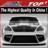 Madly New body kit for 2010-2013 Porsche Panamera Eros Version 4 Wide Body kit