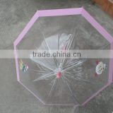 Clear Birdcage Kid Umbrellas