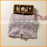 Summer luury girls baby cotton pants shorts wholesale agent Taobao Korean children children summer tide