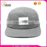 New Design Good Quality Blank 5 Panel Camp Cap Promotional