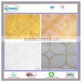 India market gold color fire resistant home decoration pvc ceiling film