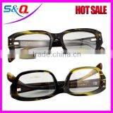 Animal horn readling glasses buffalo optical frame