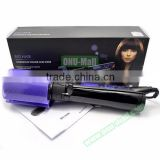 Fashionable Design 2 in 1 Electric Hair Brush Styler, Hair Straightener Comb Hair Curler