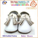 Wholesale New Design Soft Sole Genuine Leather Baby Shoes Moccasins Footwear Kids