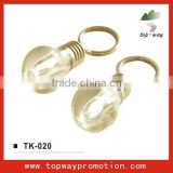 HOT promotion light bulb keychain