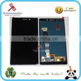 high quality original lcd repair parts for 4.5'' lumia 925 LCD display screen, touch digitizer with frame for Nokia combo