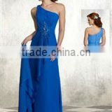 Navy Blue One-shoulder Bridal Mother Dress XYY-wy021-12