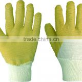 clean healthy flannel food grade latex gloves