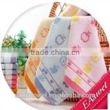 100% bamboo fiber material printed hand towels souvenir for children