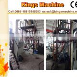 Ruian New Deign LDPE Film Blown Machine Three Layer Platic LDPE Film Scrap Blowing Machine(Kings Brand)