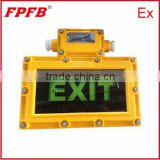 BYD exit sign factory high quality emergency LED safety indicator lamp ex proof
