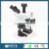 Dongguan Supplier FTSM45T1 Optical Trinocular Stereo Zoom Digital Microscope Made in China