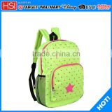 stationery wholesale apple green school bag canvas