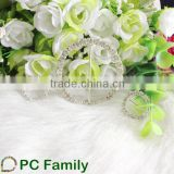 Round Rhinestone Buckle For Wedding Chair Covers                                                                         Quality Choice