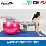 Balance Ball With Pump for Physical Therapy, Pilates,Yoga Home & Personal Training                                                                         Quality Choice