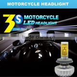 Newest design H7 6500K led headlight for bajaj 150cc pulsar motor