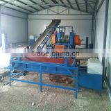 Semi Automatic Type Rubber Powder Production Line / Waste Tyre Recycling Production Line