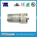 Shaft Dia 6mm 12Volt 30rpm High Torque PMDC Spur Gear Motor with Permanent Magnet Construction