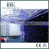 TV Studio Backdrop Colorful Velevt LED Curtain Supplier