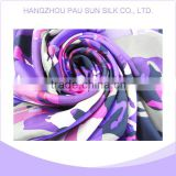Ladies' fashion digital printing large twill silk digital print custom design silk scarf