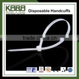 High strength Plastic Handcuff disposable handcuffs