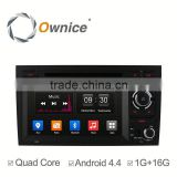Ownice C300 quad core Android 4.4 Car multimedia player for Audi A4 S4 support canbus + 8G flash